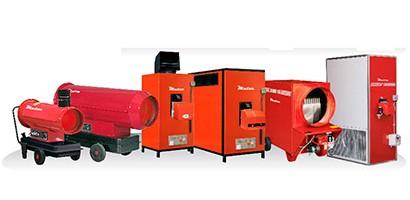 Renovamos la maquinaria de calefacción con cañones de calefacción marca Mator