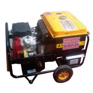 Alquiler de Generador eléctrico portátil 12,5KVA trifásicos