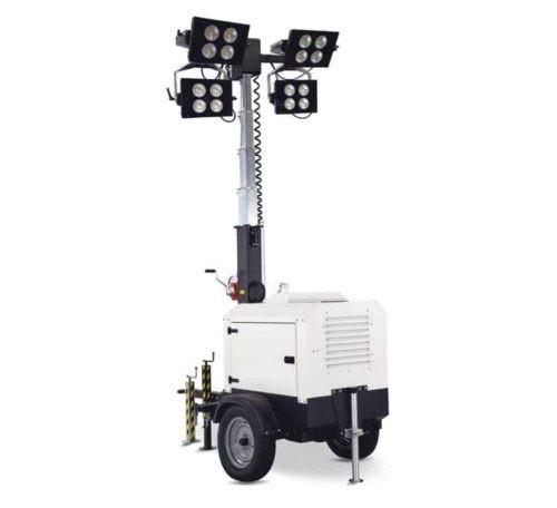 Torres de iluminación exterior 4 focos de 290 W LED