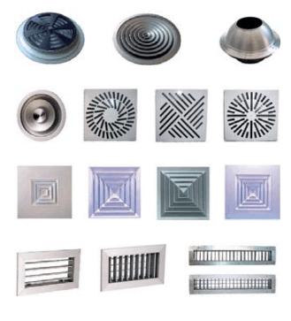 Alquiler de Plenums especiales, rejillas, conductos, controles ytermostatos