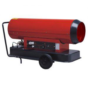 Rental of hot air generator for drying