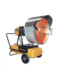 Alquiler de Generador de calefacción por rayos infrarrojos