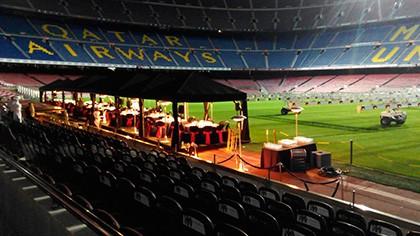 Climatización y energía en el campo de fútbol Camp Nou de Barcelona