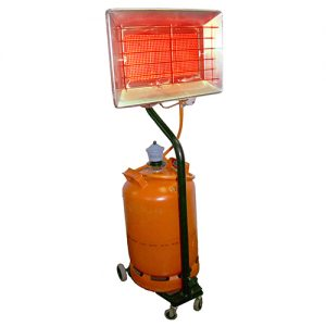 Rental of infrared heaters for drying concrete pavements