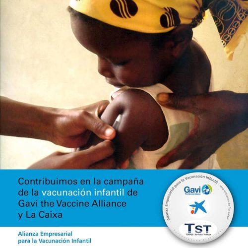 Contribuimos en la campaña de la vacunación infantil