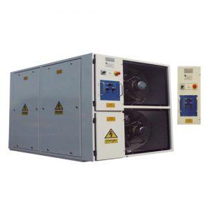 Alquiler de Bancos de carga resistiva 650 KW para pruebas de instalaciones elécticas