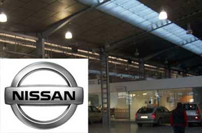 Aire acondicionado focalizado para los trabajadores de NISSAN