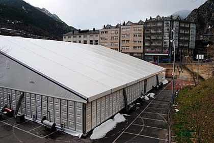 TST combate con éxito las temperaturas extremas en la Feria de Andorra