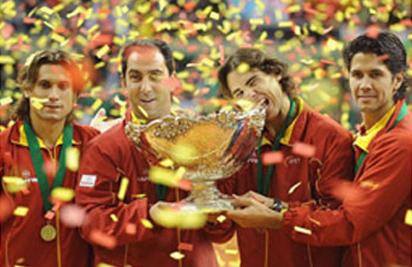 TST en la final de la Copa Davis