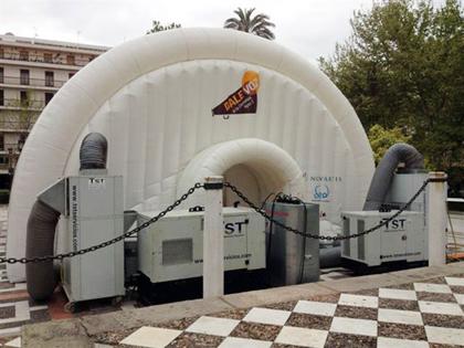 Aportamos aire y grupos de energía en el XXVI Congreso Nacional de la Sociedad Española de Diabetes en Sevilla