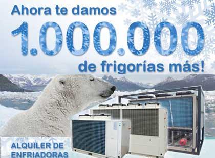 Nuestra División Frío Industrial incorpora 1 millón de frigorías más