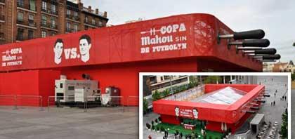 TST climatiza el Campeonato Copa Mahou de Futbolín de Madrid