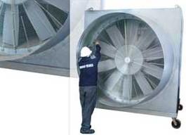 TST crea ventiladores de gran caudal y presión especiales para túneles en construcción