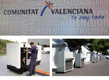 Nuestra central en Valencia presta servicio de alquiler en toda la zona de Levante y Murcia