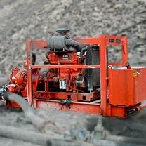 bombas de agua sumergibles con accionamiento por grupo hidráulico motor diesel