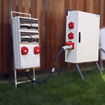 Cuadros eléctricos de distribución y protección