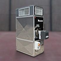 Alquiler de generador de aire caliente para climatización
