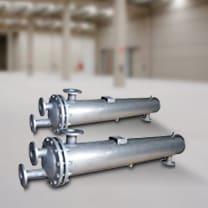 Alquiler de intercambiadores tubulares para calor o frío