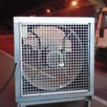 Ventilacion para tuneles