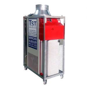 Alquiler de Generador de aire caliente 70 KW