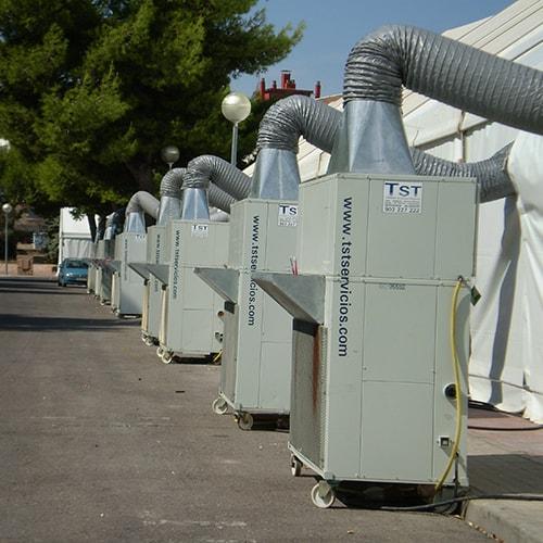 Equipos autónomos de aire acondicionado