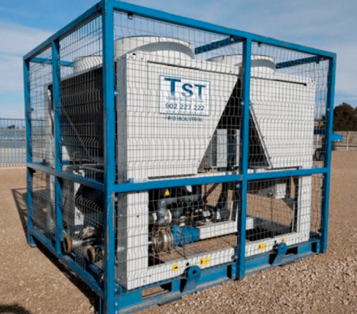 Tower rental Water chillers 181 KW only cold