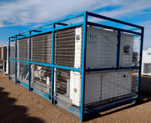 Tower rental Water chillers 670 KW only cold