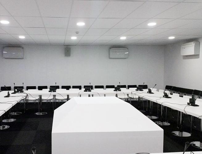 splits para salas de reuniones