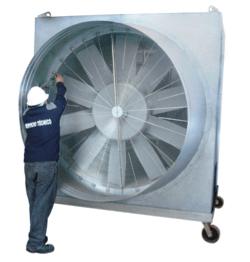 Métodos de trabajo para la ventilación un túnel