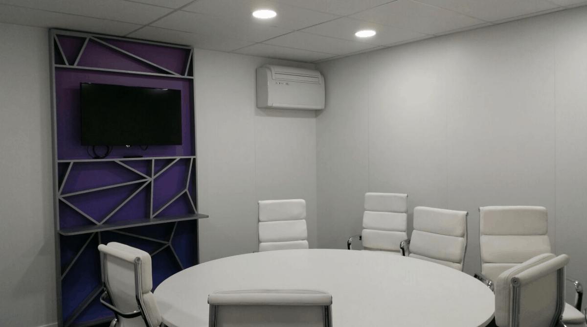 Alquiler de climatización para salas de reuniones