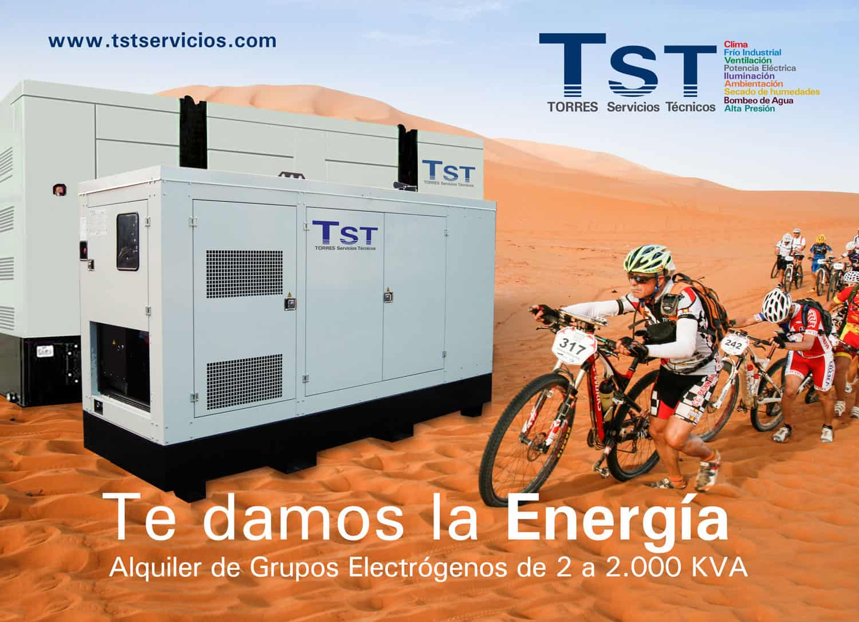 Aportamos toda la energía a la carrera de bicicletas Titan Desert 2017