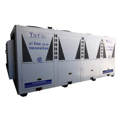 Rental of water chillers 500 KW heat pump