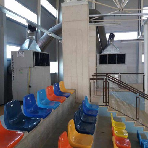Alquiler de aire acondicionado en campeonato del mundo de gimnasia rítmica en Guadalajara