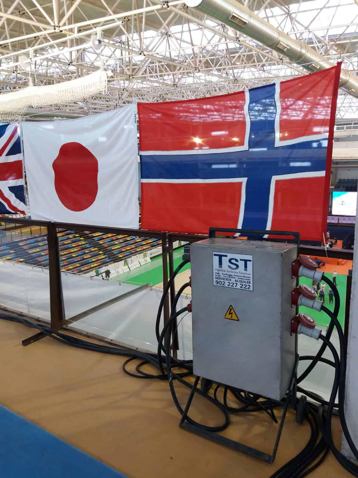 Alquiler cuadro eléctrico trifásicos para instalaciones provisionales en eventos deportivos