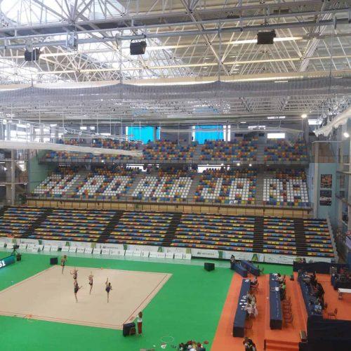 Climatización campeonato del mundo de gimnasia rítmica en Guadalajara