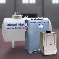 Alquiler de depósitos de combustible para repostaje de maquinaria, depósito nodriza