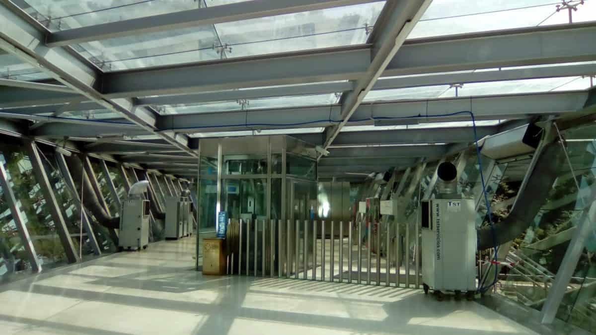 Alquiler de climatización en el metro Kukullaga Vizcaya
