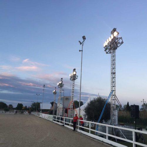 Torres de iluminación para exterior