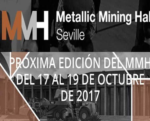 Estaremos en la feria de minería MMH de Sevilla