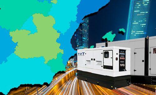 Alquiler de generadores o grupos electrógenos en Murcia
