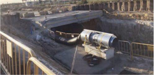 Ventilación para túneles