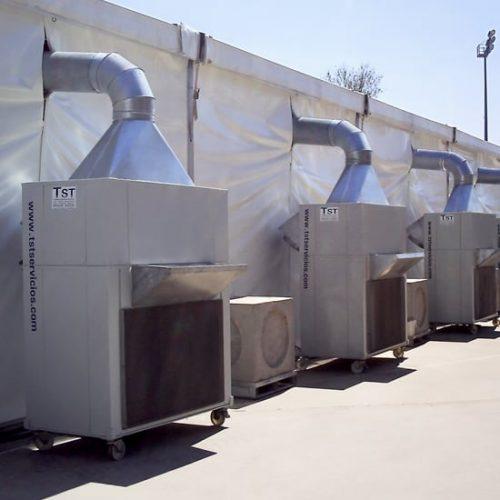 Equipos compactos de calefacción