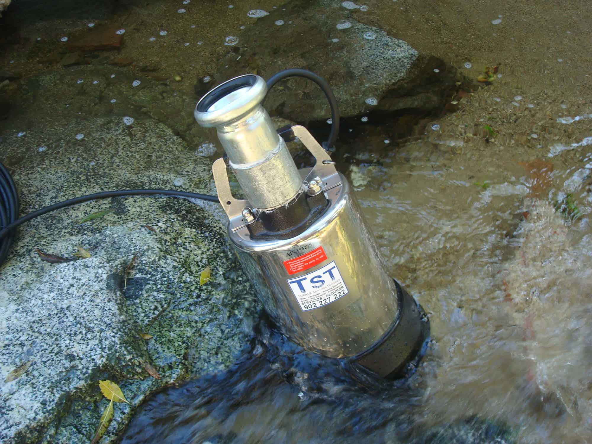 Alquiler de alquiler bombas de drenaje de agua para for Alquiler de bombas de agua
