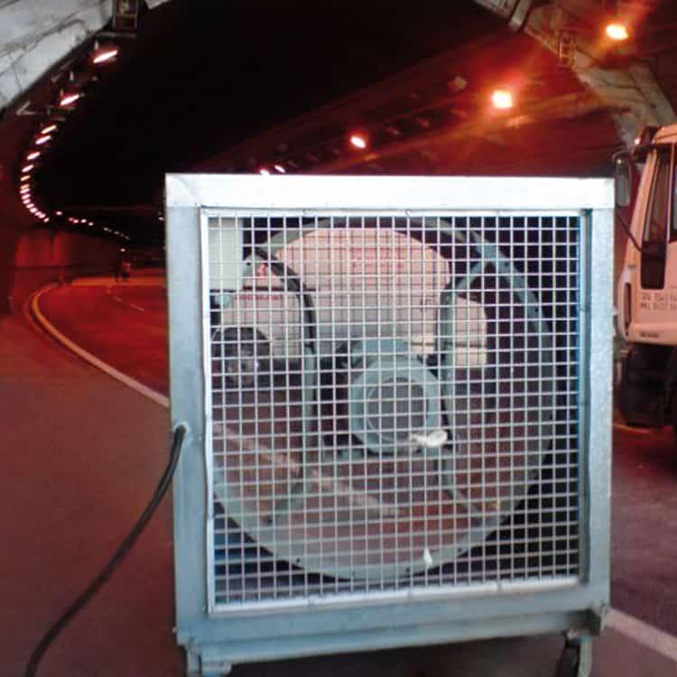 Ventilación en túneles