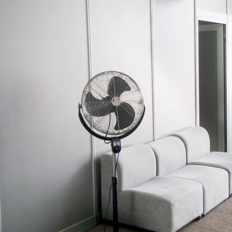 Ventilación portátil para eventos