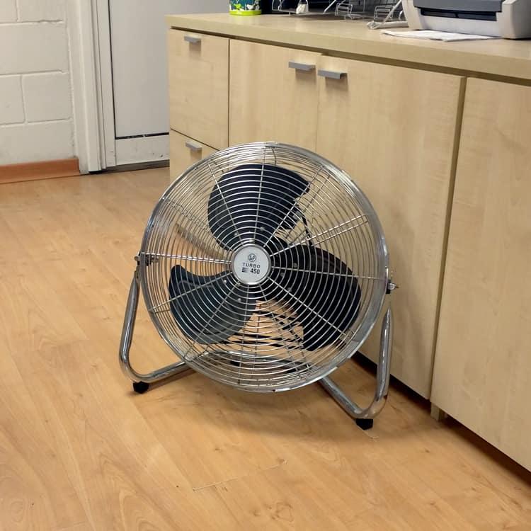 Ventilación portátil para salas