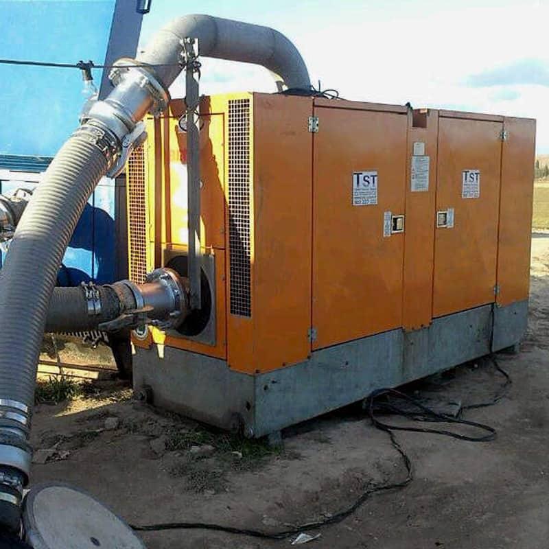 Alquiler de alquiler de bombas diesel insonorizadas de for Alquiler de bombas de agua