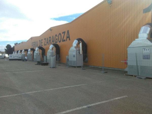 Climatización para ferias