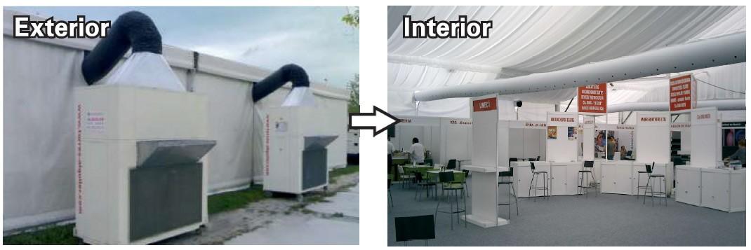 TST dispone de diferentes soluciones técnicas y estéticas para la distribución de la climatización
