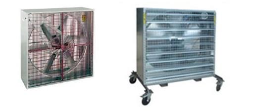 pantalla de ventilación